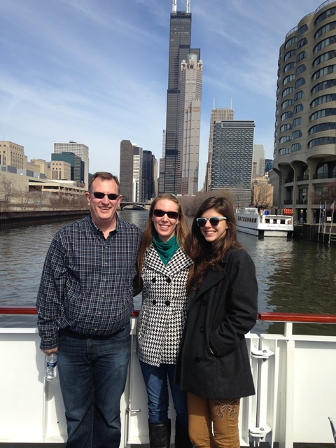 Photo of Dane, Brandi, & Bruna in Chicago on Not So Mommy... Photo Gallery