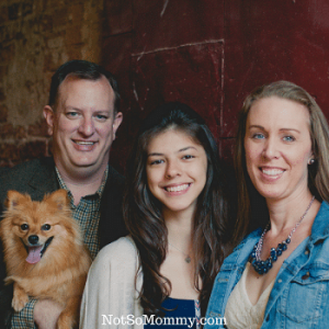 Family Photo 2015 on Host Mom Featured Article of Not So Mommy