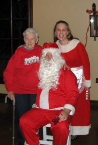 Photo of Grammy, Santa, and Mrs. Claus on Mr. & Mrs. Claus: A Childless Couple on Infertility Blog on Not So Mommy...