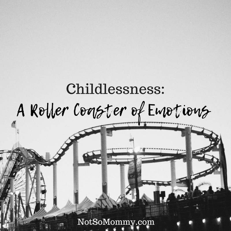 Photo of a roller coaster on Childlessness: A Roller Coaster of Emotions on Infertility Blog on Not So Mommy...