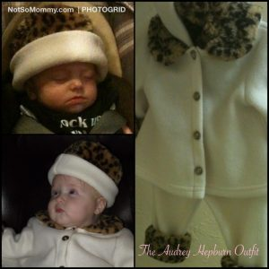 Collage of The Audrey Hepburn Outfit on From Unrealized Dreams to Unexpected Joys... on Not So Mommy...