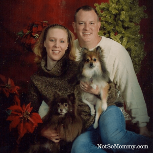 Photo of Brandi, Dane, Prancer, & Valentine on Lessons from Fur Babies on Not So Mommy... Blog