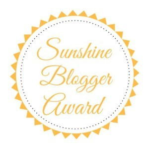 Sunshine Blogger Award 2018 Logo on Not So Mommy...