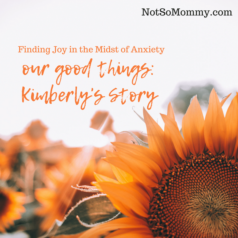Photo of a sunflower on Our Good Things: Kimberly's Story on Not So Mommy..., a childless blog