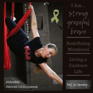 #IAMMe Photo of Brandi Lytle, owner and founder of Not So Mommy..., doing aerial dance