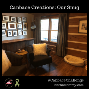Photo of Our Snug for November's #CanbaceChallenge - Canbace Creations on Not So Mommy...