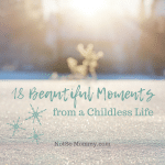 "Photo of the sun shining through the trees onto a blanket of snow on ""18 Beautiful Moments from a Childless Life,"" on Not So Mommy..., a childless blog"