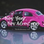 Photo of a pink Volkswagon Beatle on New Year, New Adventures on Not So Mommy..., a childless blog