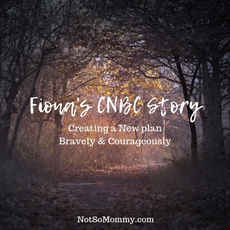 "Photo of a pathway going from darkness to light on ""Fiona's CNBC Story,"" on Not So Mommy..., a childless blog"