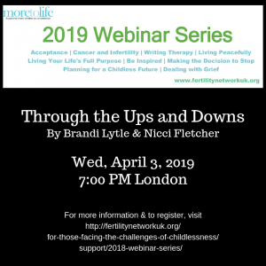 Through the Ups and Downs, a More to Life Webinar featuring Brandi Lytle of Not So Mommy... and Nicci Fletcher of Canbace Life