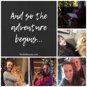 Photo Collage of New Year's Celebrations as Childless on Not So Momy..., a childless blog
