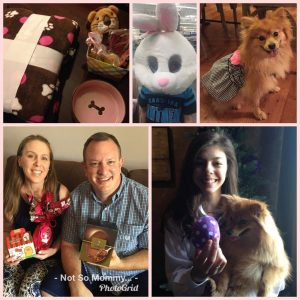 Photo Collage of Easter Celebrations as Childless on Not So Mommy..., a childless blog
