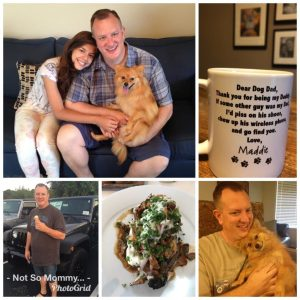 Photo Collage of Father's Day Celebrations as Childless on Not So Mommy..., a childless blog