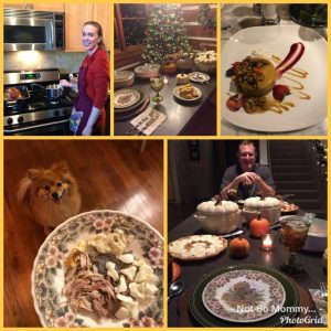 Photo Collage of Thanksgiving Celebrations as Childless on Not So Mommy..., a childless blog