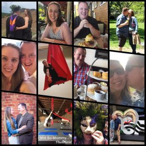 Photo Collage of Everday Celebrations as a Childless Couple on Not So Mommy..., a childless blog