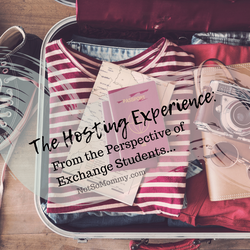 "Photo of a packed suitcase on ""The Hosting Experience: From the Perspective of Exchange Students"" on Not So Mommy..., a childless blog"
