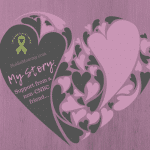 Photo of purple and grey hearts on My Story: Support from a non-CNBC friend on Not So Mommy..., a childless blog