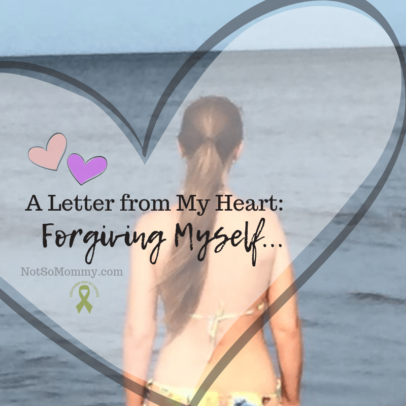 Photo of Brandi Lytle, founder of Not So Mommy..., looking out over the ocean on A Letter from My Heart: Forgiving Myself on Not So Mommy..., a childless blog