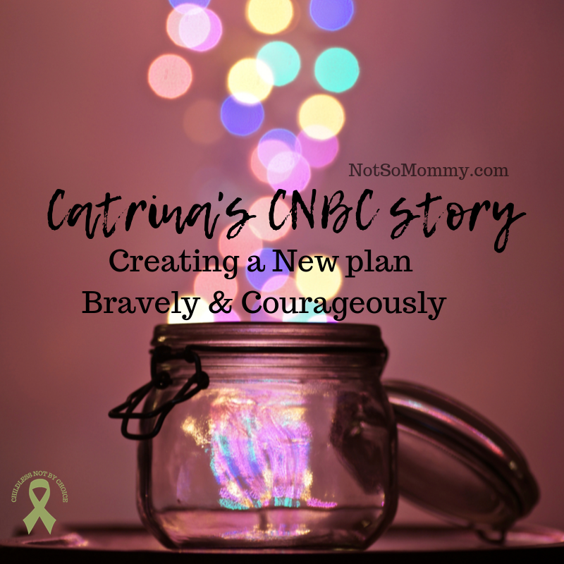 Photo of a jar with multicolored sparkles coming out the top on Catrina's CNBC Story on Not So Mommy..., a childless blog