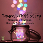 Photo of a jar with multicolored sparkles coming out the top on Tamra's CNBC Story on Not So Mommy..., a childless blog