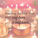 Photo of tealight candles in a heart candle holder on Starting the New Year with Self-Care and Self-Love on Not So Mommy..., a childless blog