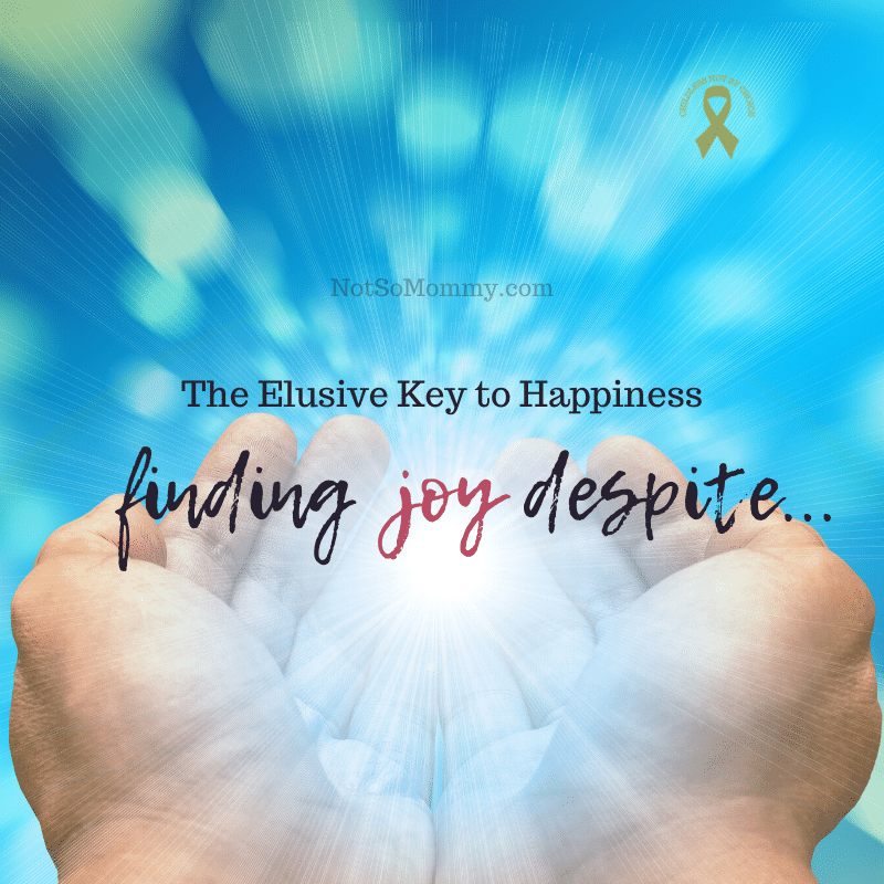 Photo of hands holding a bright ball of light on The Elusive Key to Happiness: Finding Joy Despite . . . , on Not So Mommy..., a childless blog