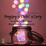 Photo of a jar with multicolored sparkles coming out the top on Hayley's CNBC Story on Not So Mommy..., a childless blog