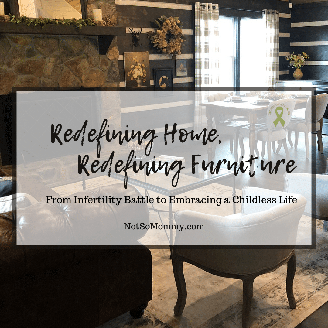 """Photo of Great Room on """"Redefining Home, Redefining Furniture,"""" on Not So Mommy..., an infertility & childless blog"""