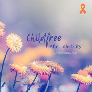 Photo of orange flowers on Childfree After Infertility Resources on Not So Mommy..., an infertility & childless blog
