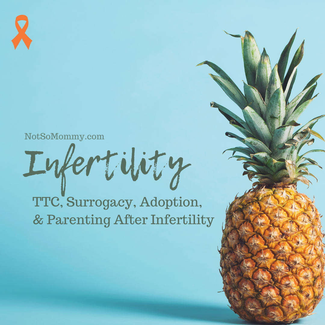 Photo of a pineapple on Infertility Resources on Not So Mommy..., an infertility & childless blog