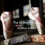 Photo of ballerina feet on point on top of bricks on The Strength of the Childless Woman on Not So Mommy..., and infertility & childless blog