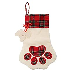 Christmas Paw Stocking available through The Not So Mommy... Shop for Fur Babies and Fur Mamas