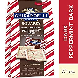 Photo of Ghiradelli's Dark Chocolate Peppermint Bark, available through The Not So Mommy... Shop