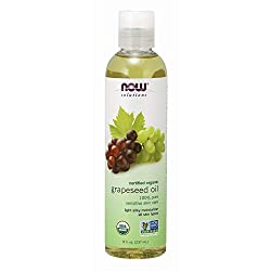 Photo of NOW Solutions Organic Grapeseed Oil, available through The Not So Mommy... Shop for Health and Wellness