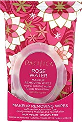 Pacifica Rose Water Makeup Removing Wipes, available through The Not So Mommy... Shop for Health and Wellness