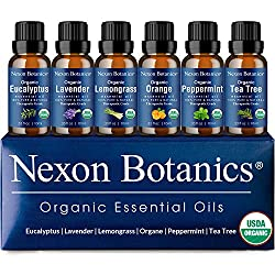 Photo of Nexon Botanics Organic Essential Oils, available through The Not So Mommy... Shop for Health and Wellness