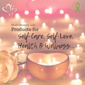 Photo of a heart-shaped candle holder on Products for Self-Care, Self-Love, Health and Wellness, on Not So Mommy..., an infertility and childless blog