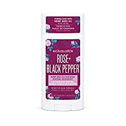 Photo of Schmidt's Rose and Black Pepper Natural Deodorant, available through The Not So Mommy... Shop for Health and Wellness