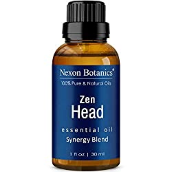 Photo of Nexon Botanics Zen Head Essential Oils Blend, available through The Not So Mommy... Shop for Health and Wellness