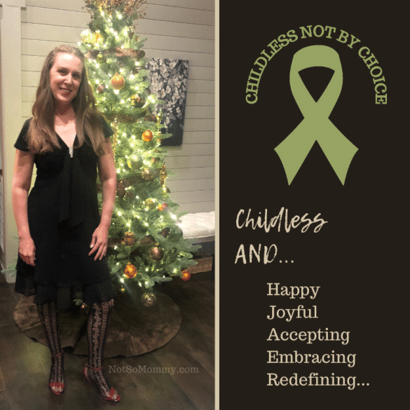 Photo of Brandi Lytle, creator of the Childless Not By Choice Awareness Ribbon & founder of Not So Mommy..., a childless blog