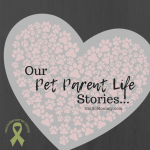Photo of a heart of paws on Our Pet Parent Life Stories on Not So Mommy..., an infertility, childless, dog mom blog