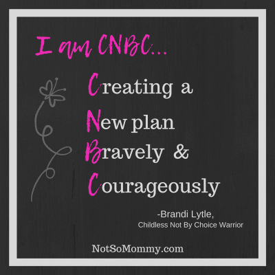 I am CNBC... - Creating a New Plan Bravely & Courageously on Plan B: Redefine on Not So Mommy...