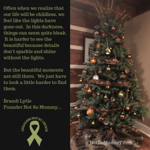 Photo of Our 2018 Christmas Tree on Not So Mommy..., a childless blog