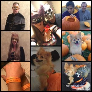 Photo Collage of Halloween Celebrations as Childless on Not So Mommy..., a childless blog