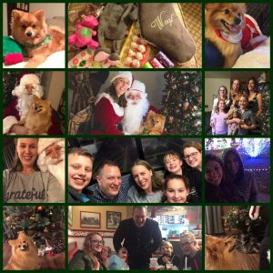 Photo Collage of Christmas Celebrations as Childless on Not So Mommy..., a childless blog