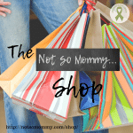 Photo of a woman wearing jeans holding different colored bags on The Not So Mommy... Shop, featuring products relevant for we childless not by choice