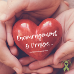 Photo of hands holding a red heart on Encouragement and Praise for Not So Mommy..., on Not So Mommy..., an infertility & childless not by choice blog