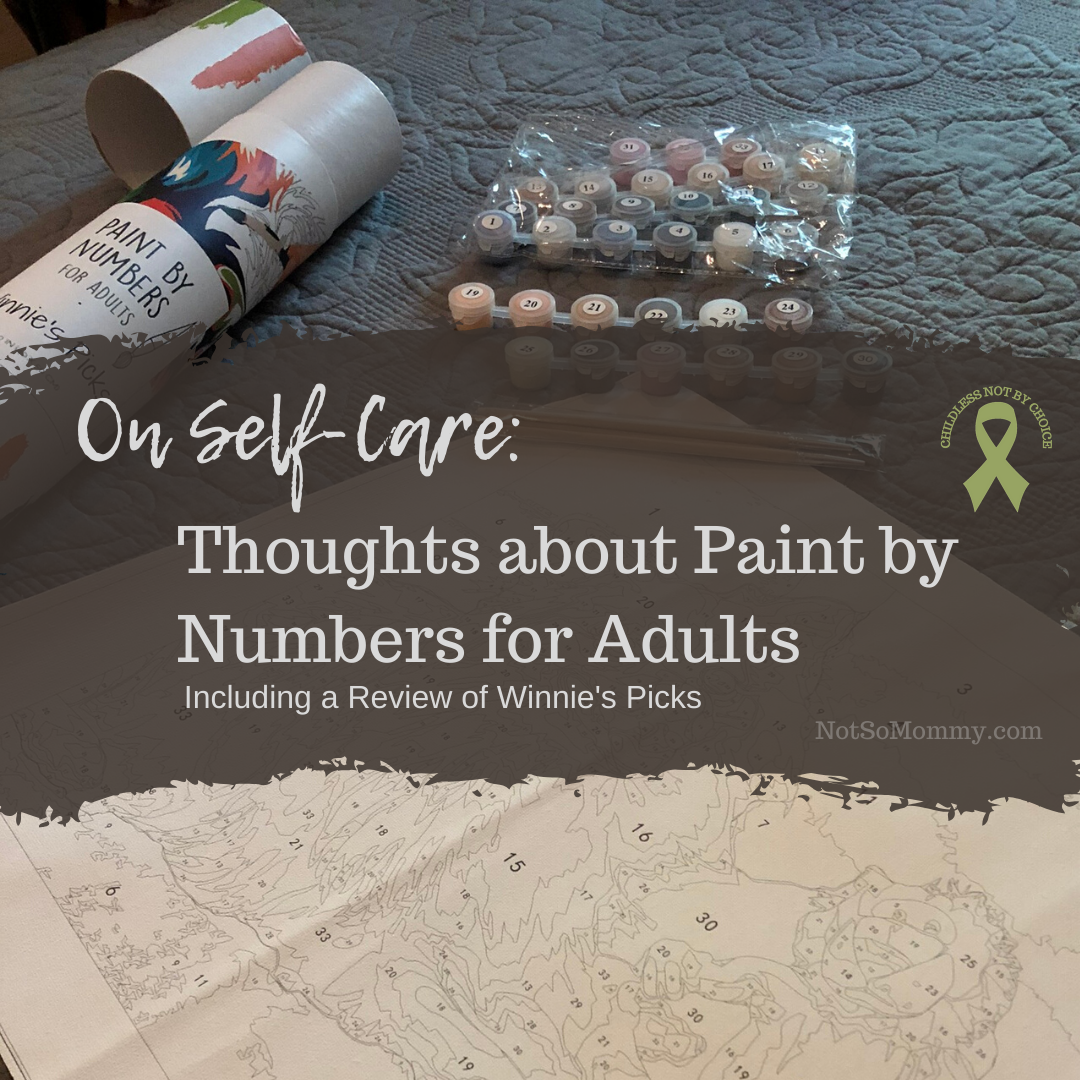 Photo of Winnie's Picks Custom Paint by Numbers for Adults Kit on Not So Mommy..., an infertility & childless not by choice blog