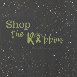 "Featured ""Shop The Ribbon"" image on Not So Mommy..., an infertility & childless not by choice blog"