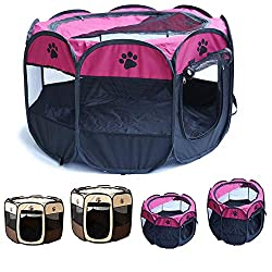 Photo of Portable Pet Playpen, available through The Not So Mommy... Shop for Fur Babies and Fur Mamas